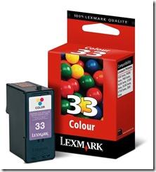 lexmark 33