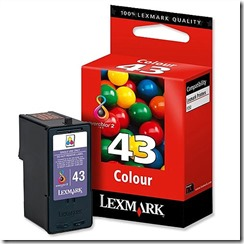 lexmark 43